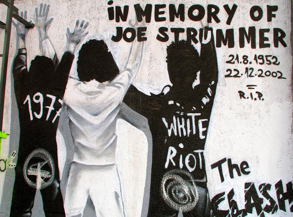 The Clash (Source; Roberta F via  Wikimedia Commons )