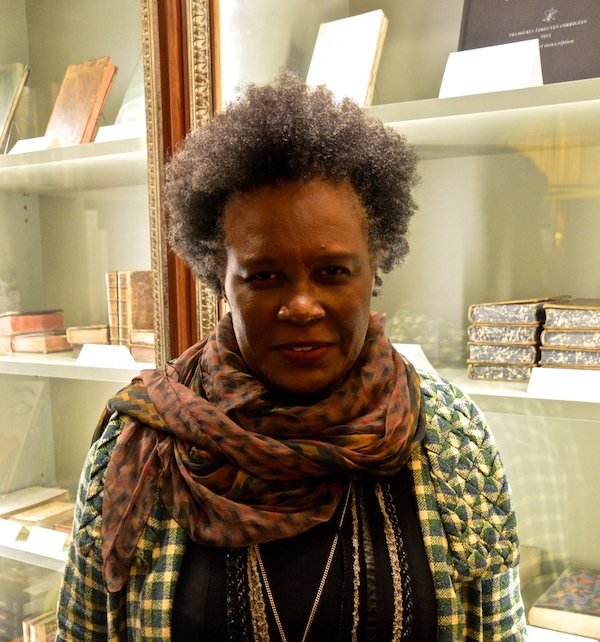 CLAUDIA RANKINE AT ALBErTIne, 2016 (Photo: Cerise Maréchaud)