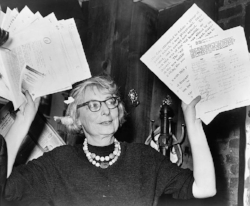 Jane Jacobs. Credit: public domain via New York World-Telegram and the Sun Newspaper Photograph Collection, Library of Congress