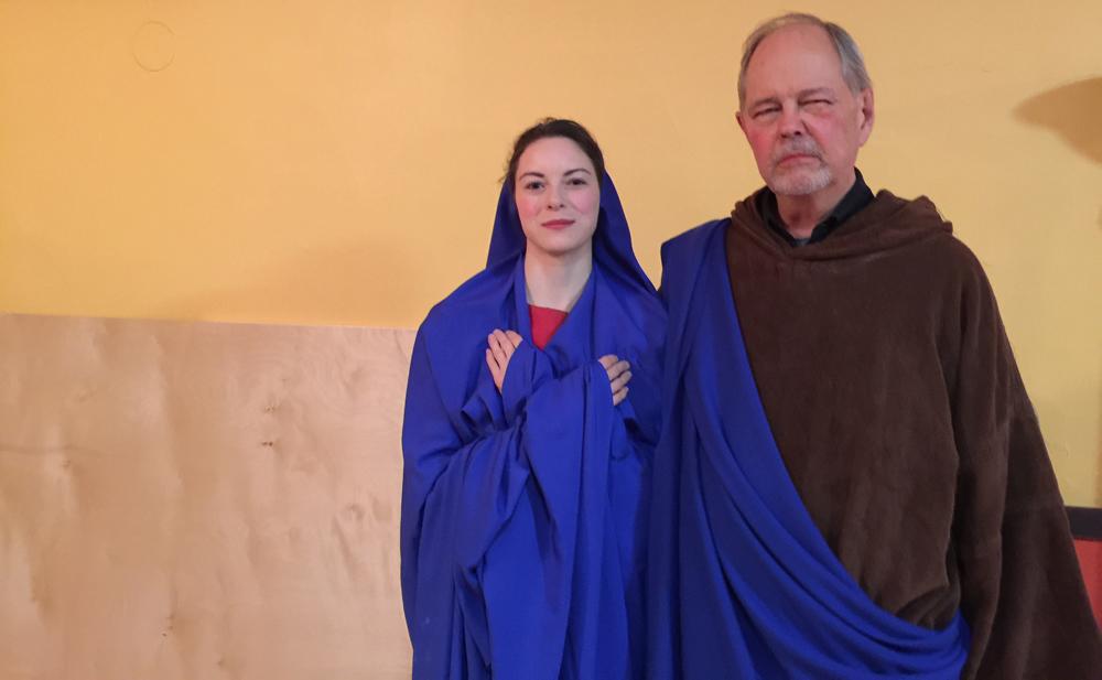 """""""The Three Kings"""" - Mary & Joseph"""