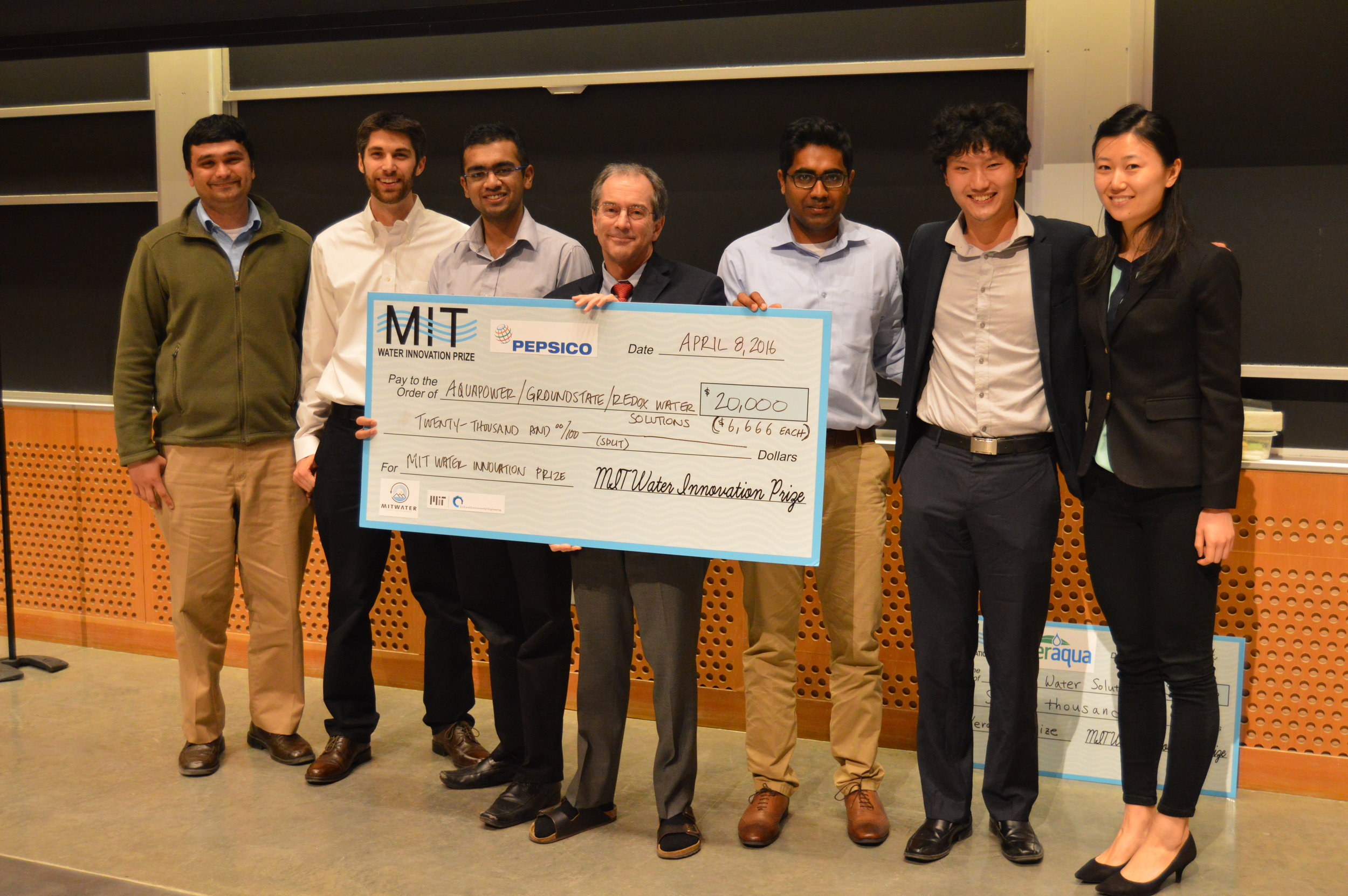 MIT Water Innovation Prize Winners, 2015-2016