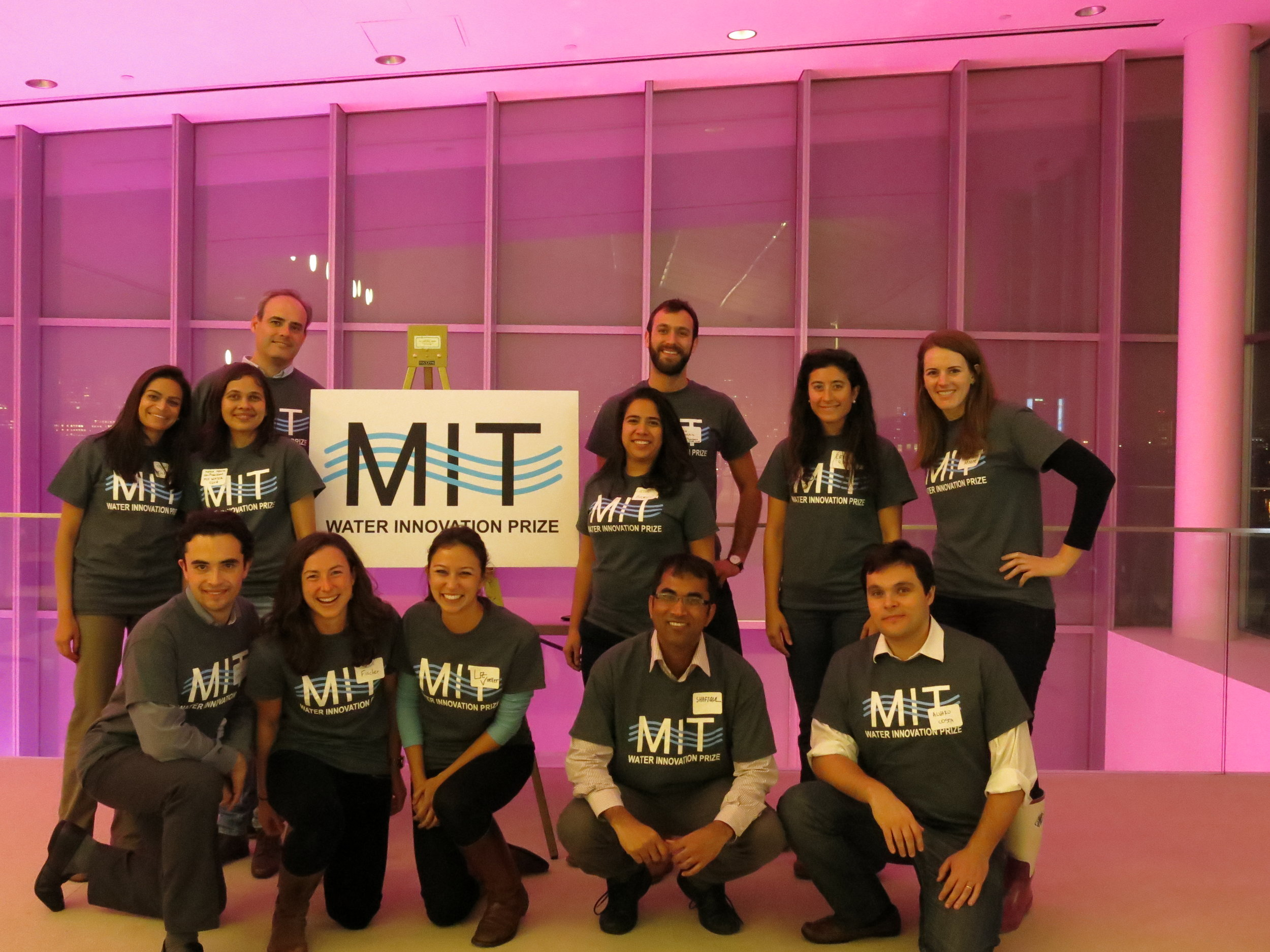 MIT Water Innovation Prize Team, 2015-2016