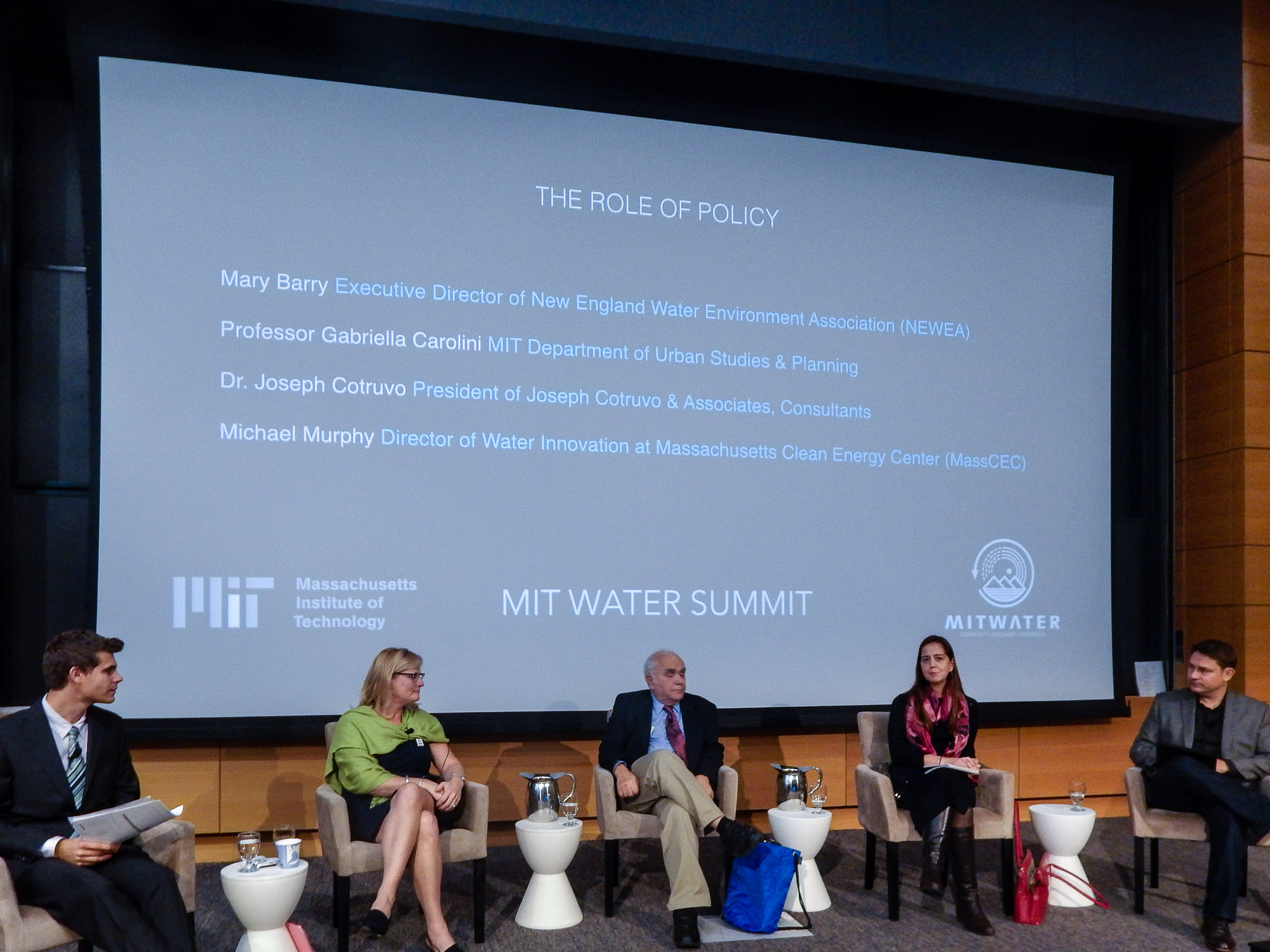MIT Water Summit, 2016