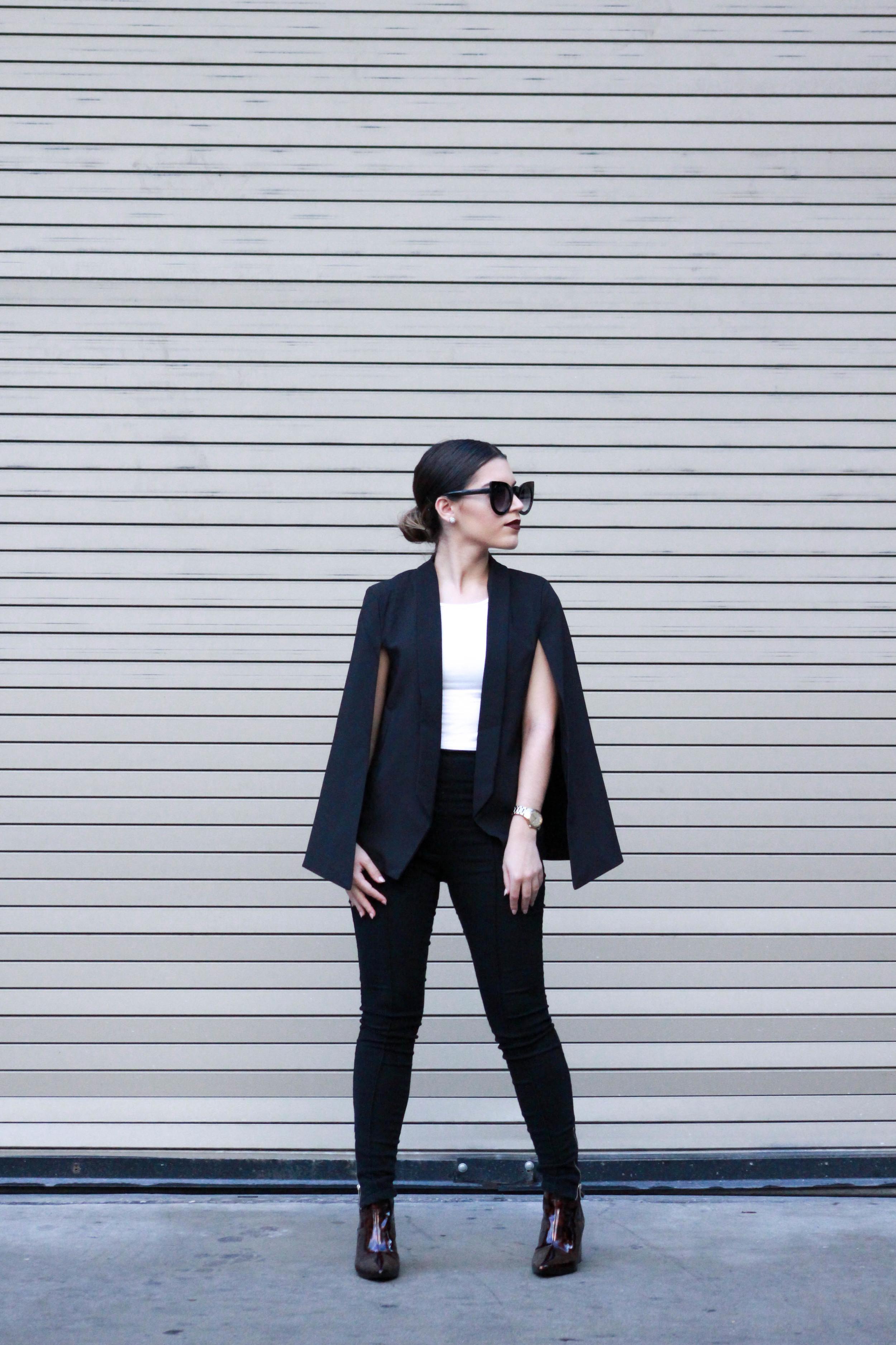 sunglasses      SunglassSpot    // Blazer    GoJane    // Top & Pants    Forever21    // Booties    Zara