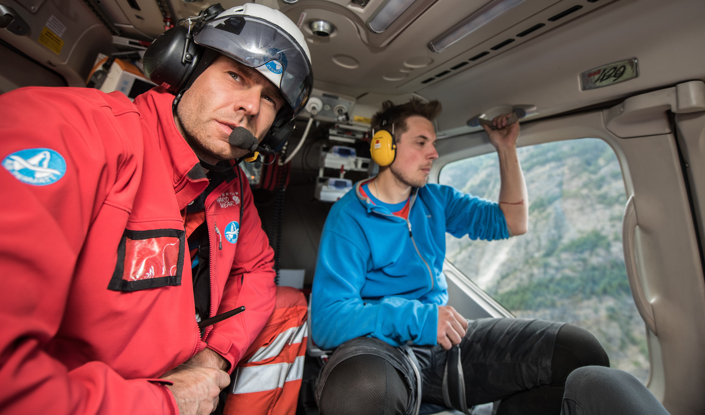 Air Zermatt - I first got to know the Air Zermatt members when I served as ICE-SAR's deligate at IKAR. So when they welcomed me for a ride-along to photograph them at work I knew I was in for a treat.