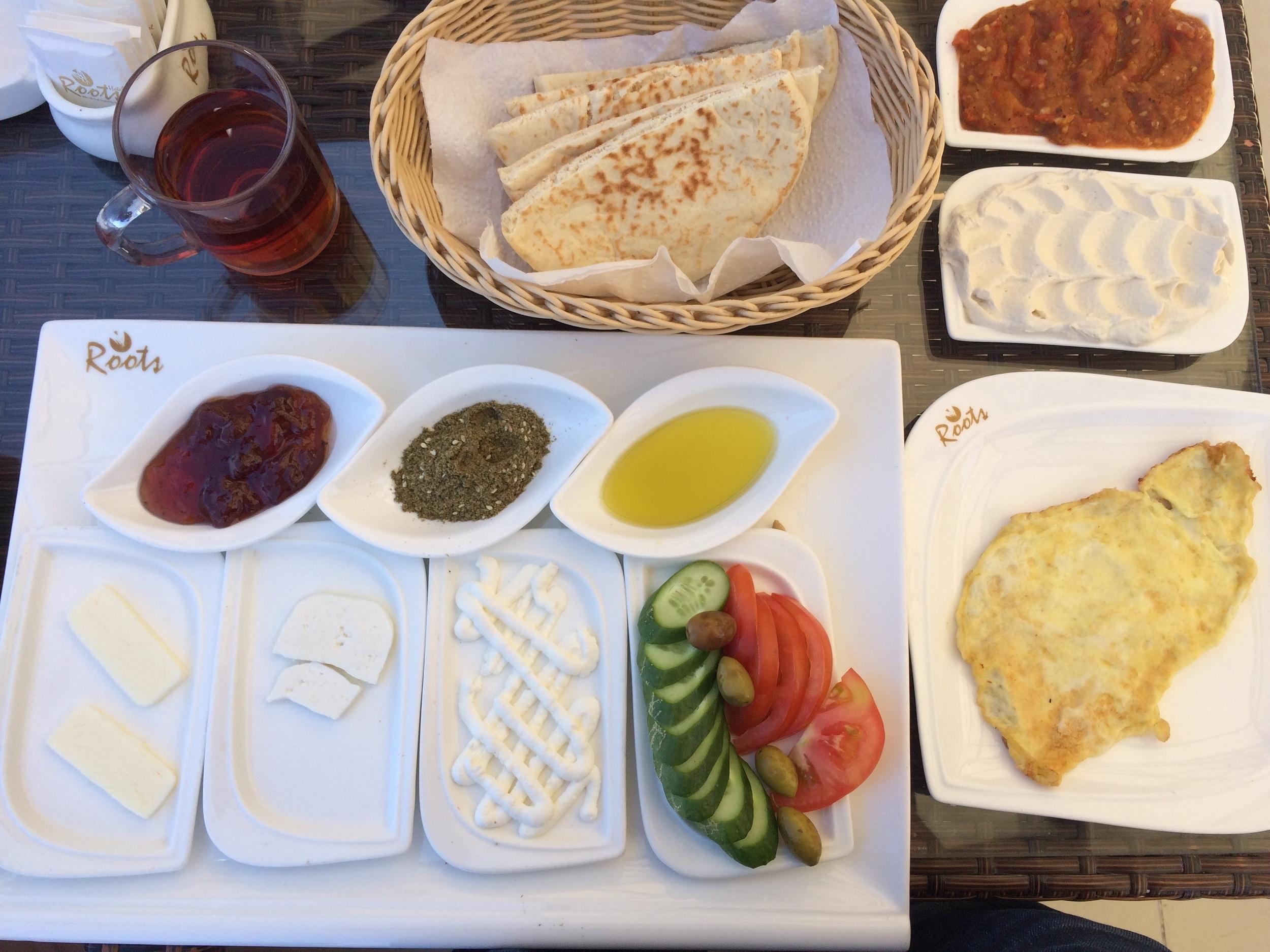 Breakfast in Gaza