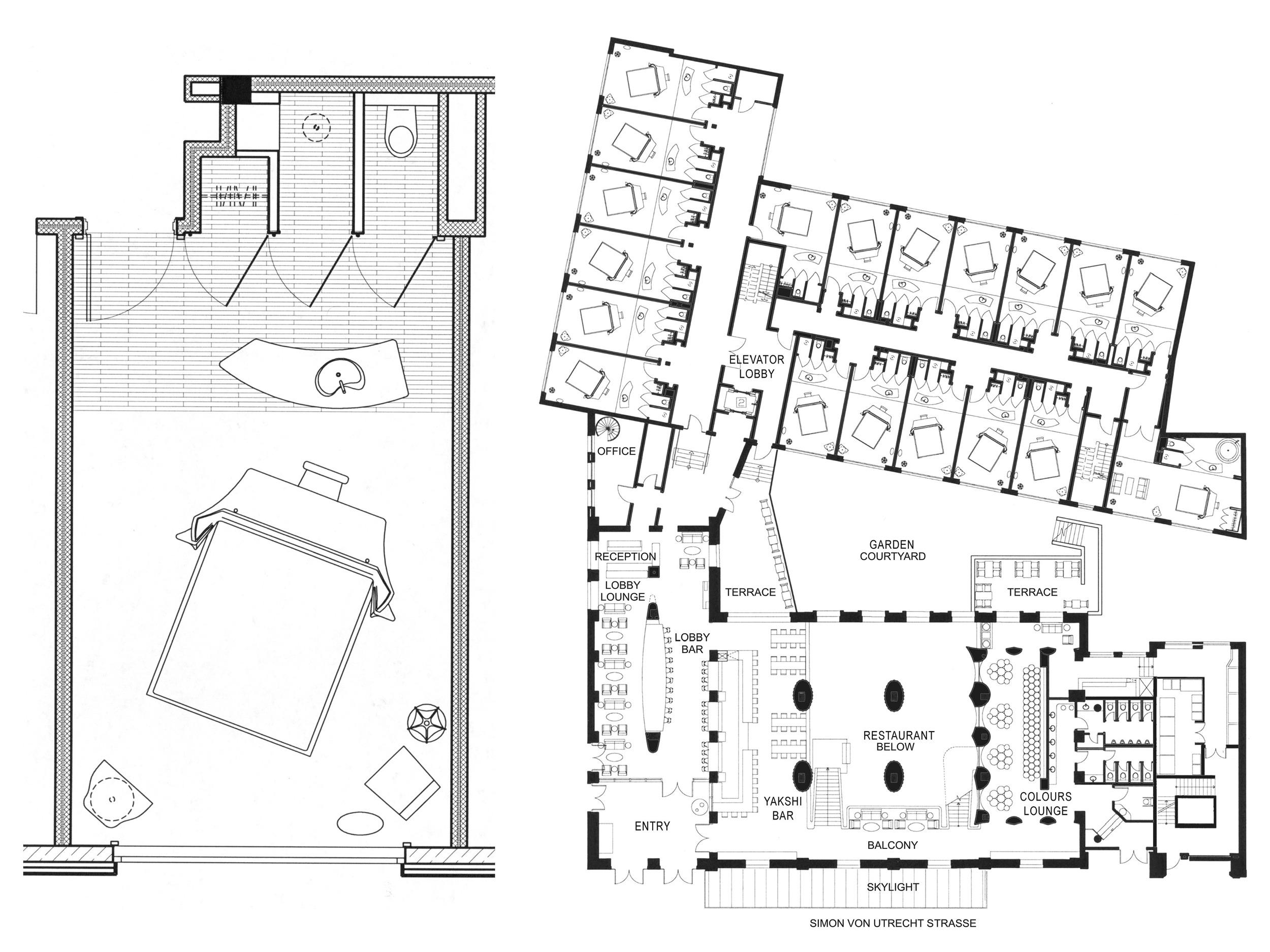Hotel Room Plan / Hotel Plan