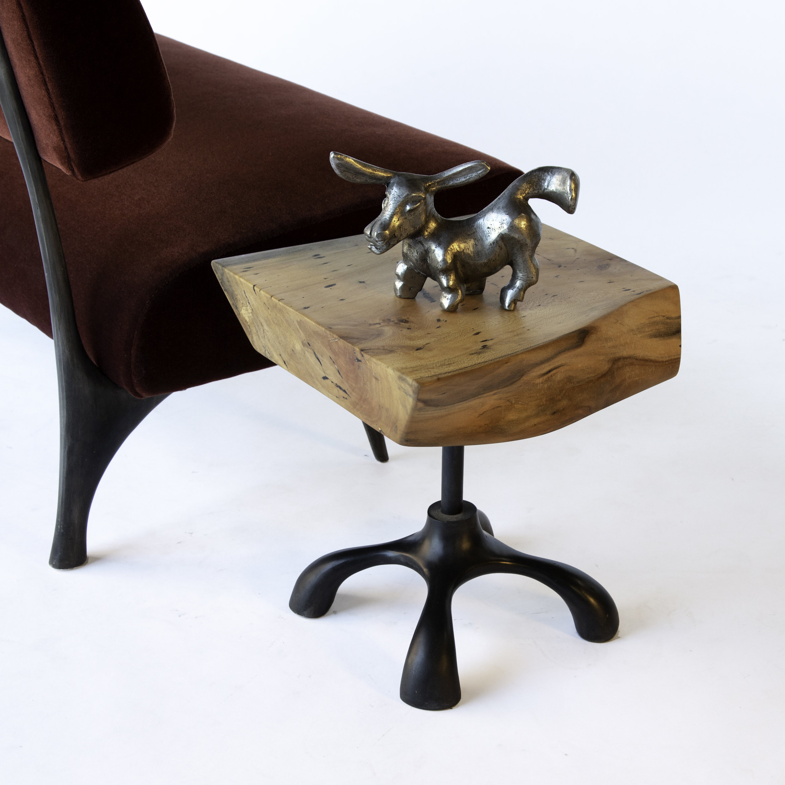 Chunk Table with Donkey and Twig Chair.jpg