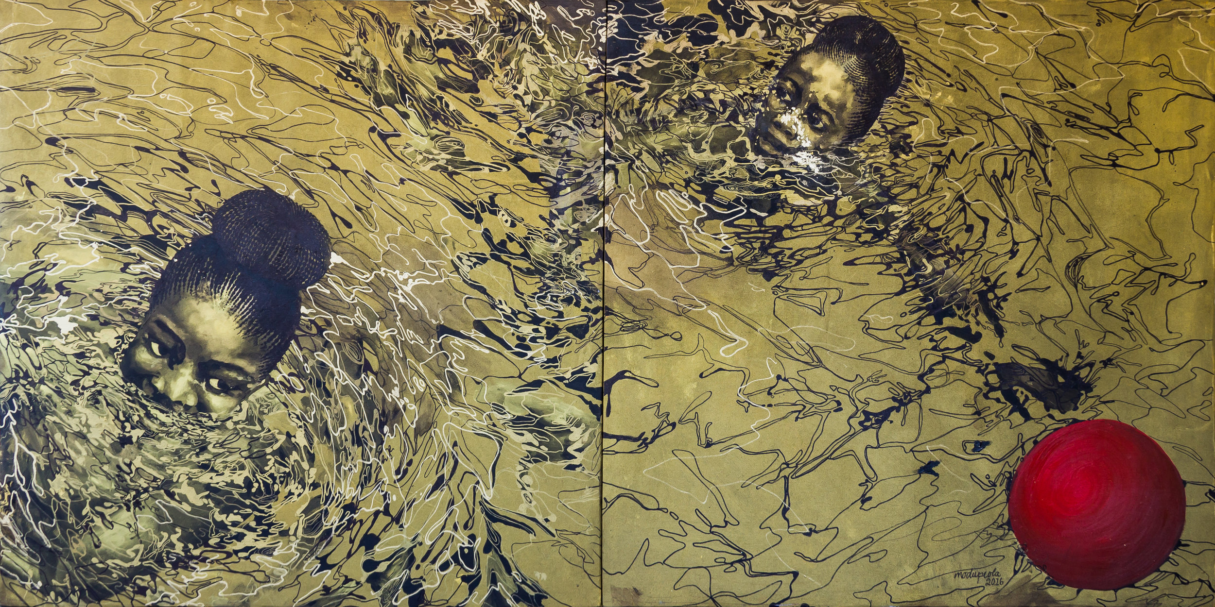 Tagged: The Race (diptych)