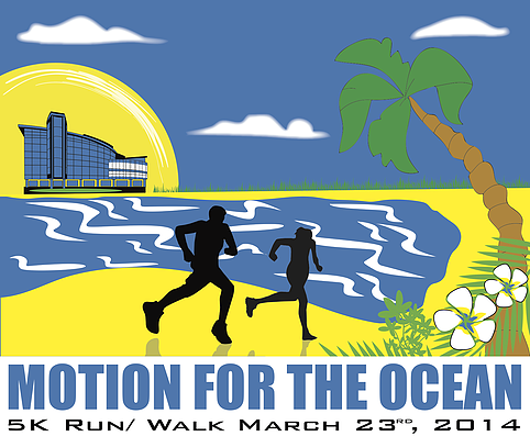 NSU Oceanographic Center Motion for the Ocean 5k run/walk