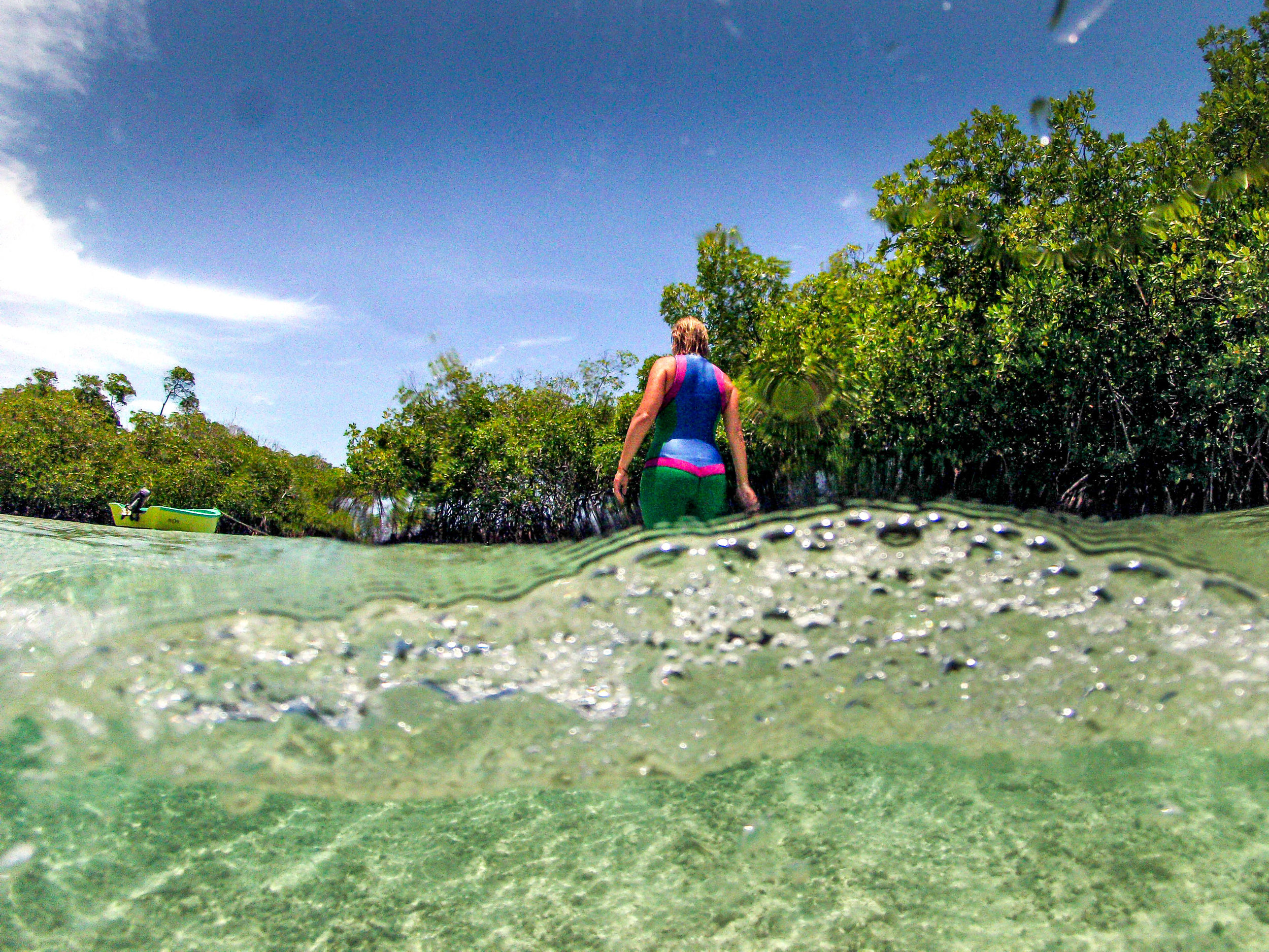 A major reason why I love Truli Wetsuits is because Mia incorporates eco-friendly processes that utilize neoprene made from natural rubber rather than chemically processed rubber from petroleum products.