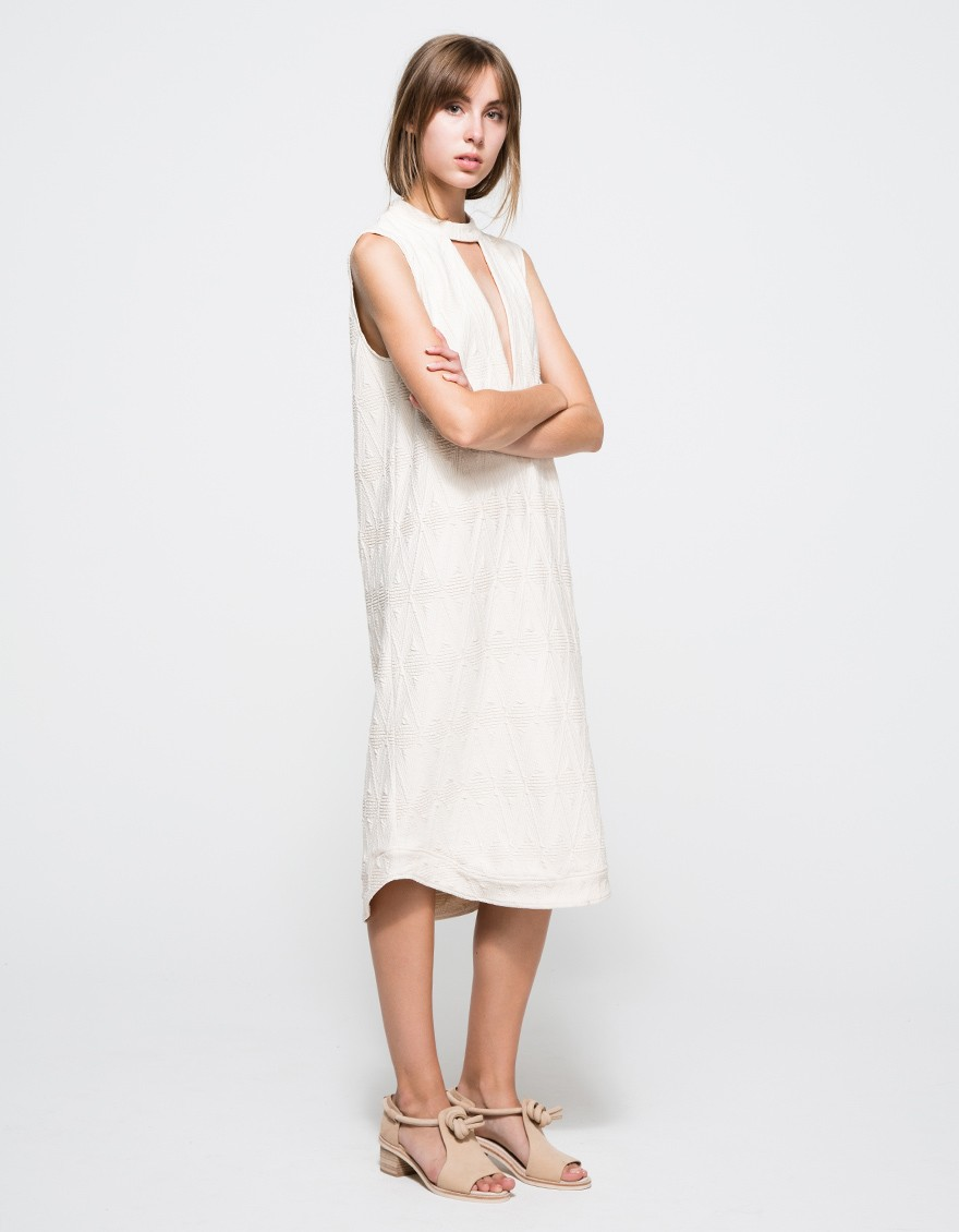 TRIBE JERSEY DRESS Ganni $172