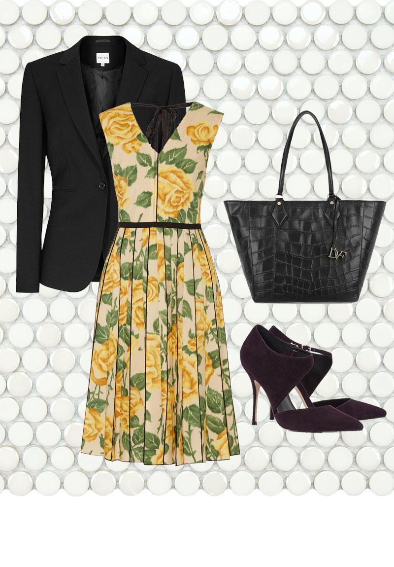 MARC JACOBS Floral-print Poplin Dress $1500