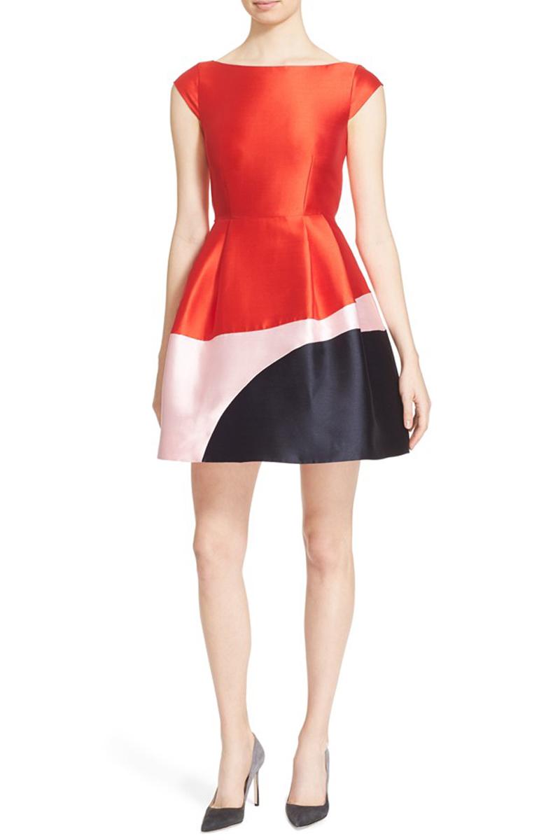 KATE SPADE Colorblock Dress $448.00