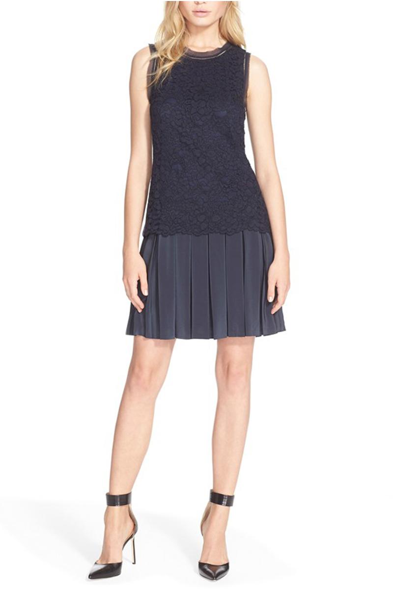 REBECCA TAYLOR Sleeveless Dress $425.00