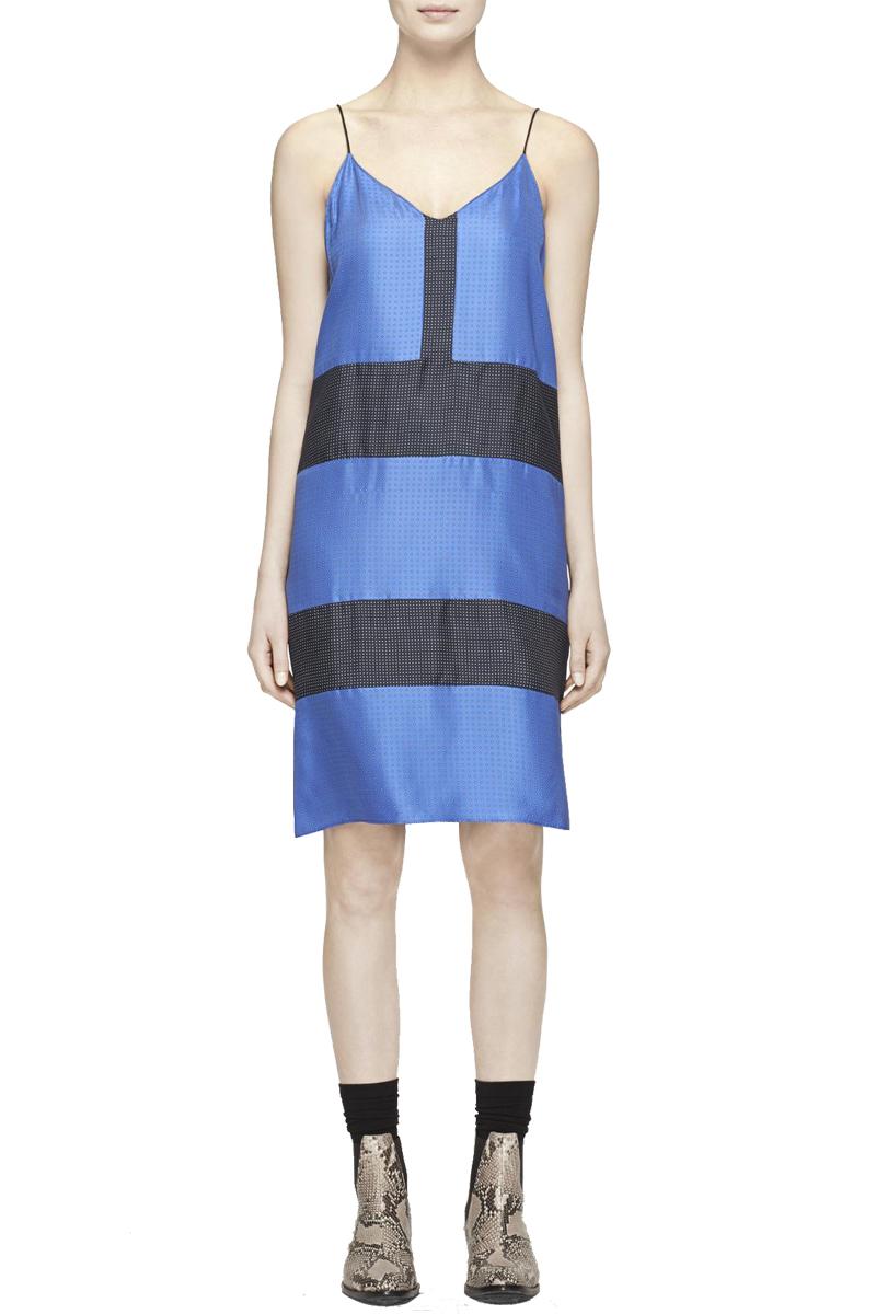 CELESTE COMBO Silk Dress $250.00