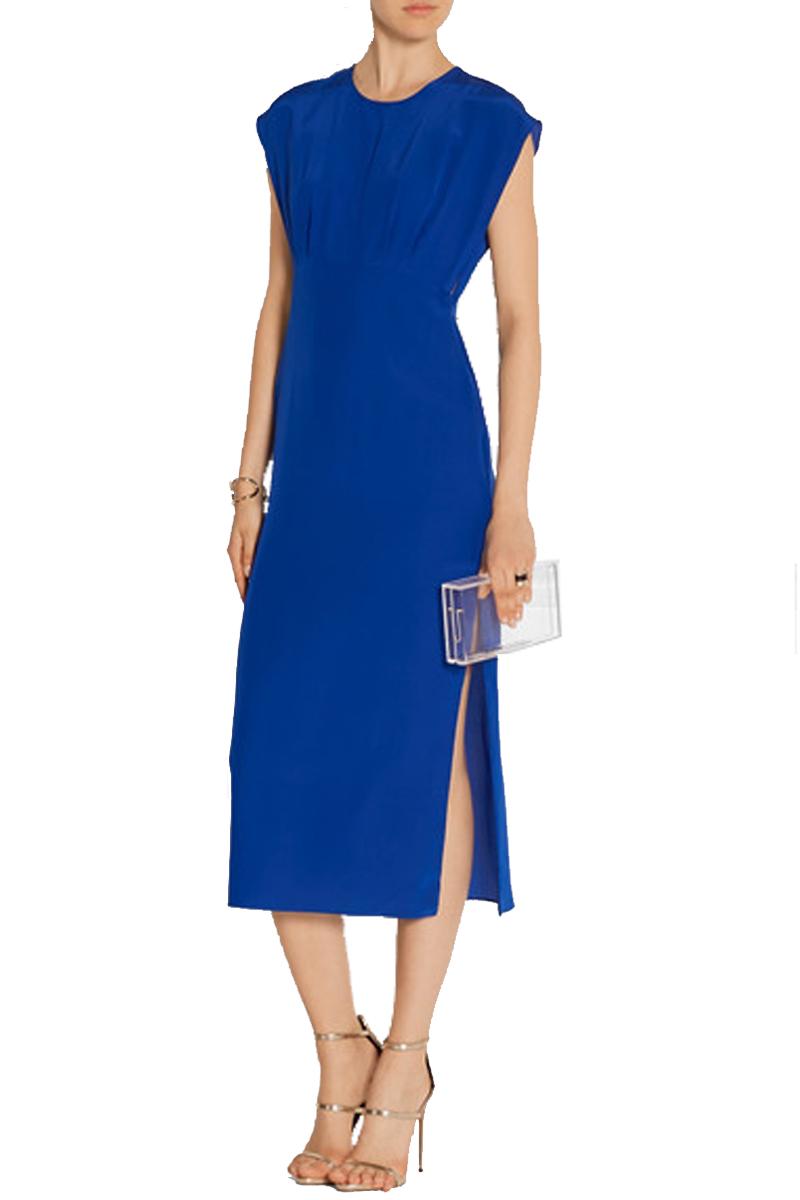 ADAM LIPPES Cutout Silk Dress $558