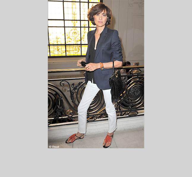 Next up is Karl Lagerfeld's longtime muse, Ines de la Fressange. The waifish French aristocrat, model, author, and empress of French style is ever a tomboy, and rarely found out of a blazer and jeans.