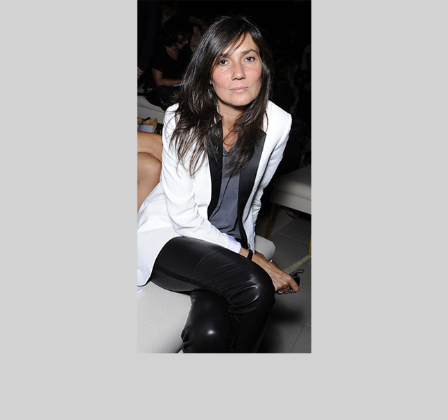 Emmanuelle Alt  The French Vogue editor-in-chief makes the new tuxedo (i.e. pairing a jacket with leather pants) so effortless! Note to self: be French