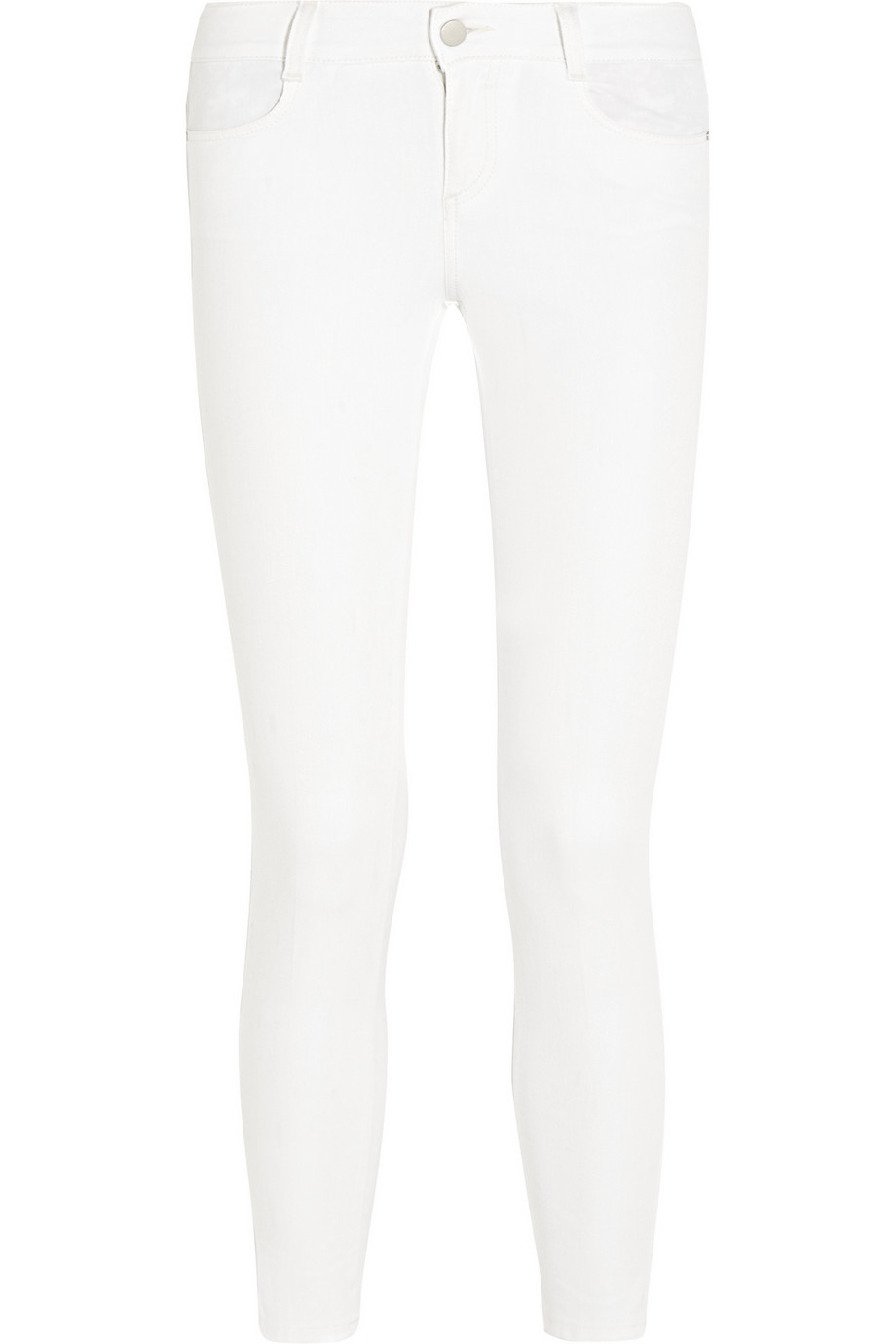 STELLA MCCARTNEY Mid-rise skinny jeans $275