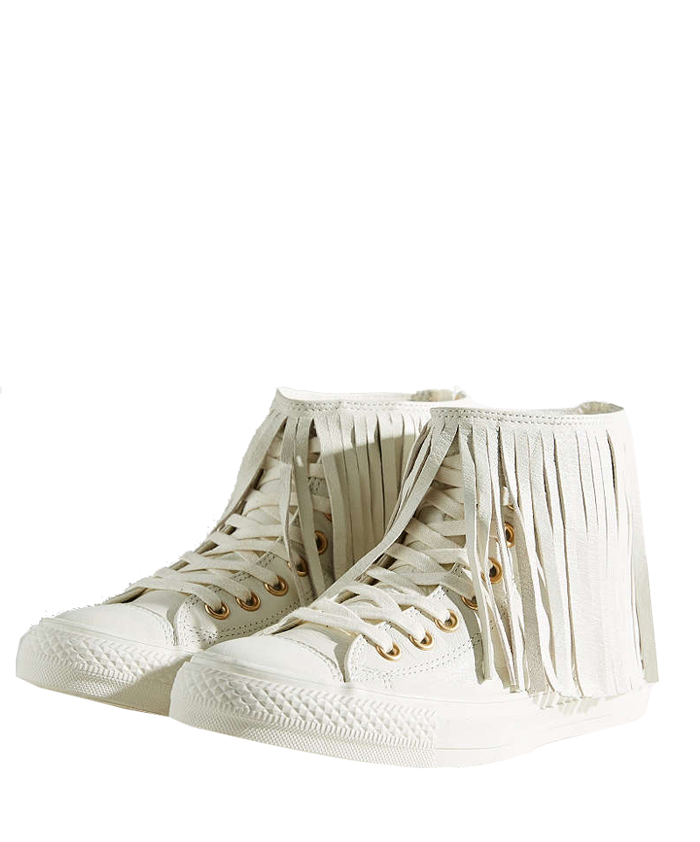 CONVERSE All Star Fringe Sneaker $100