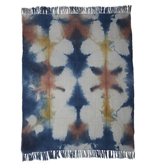 THE UPSTATE Bloom Throw $220