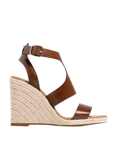 ZARA Ankle Strap Wedges $50