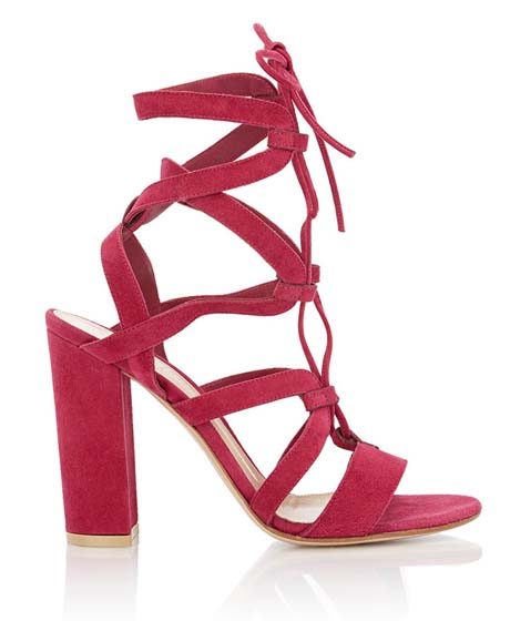 GIANVITO ROSSI Lace-Up  Sandals $599