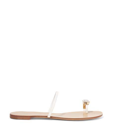 CASADEI Leather Sandals $223