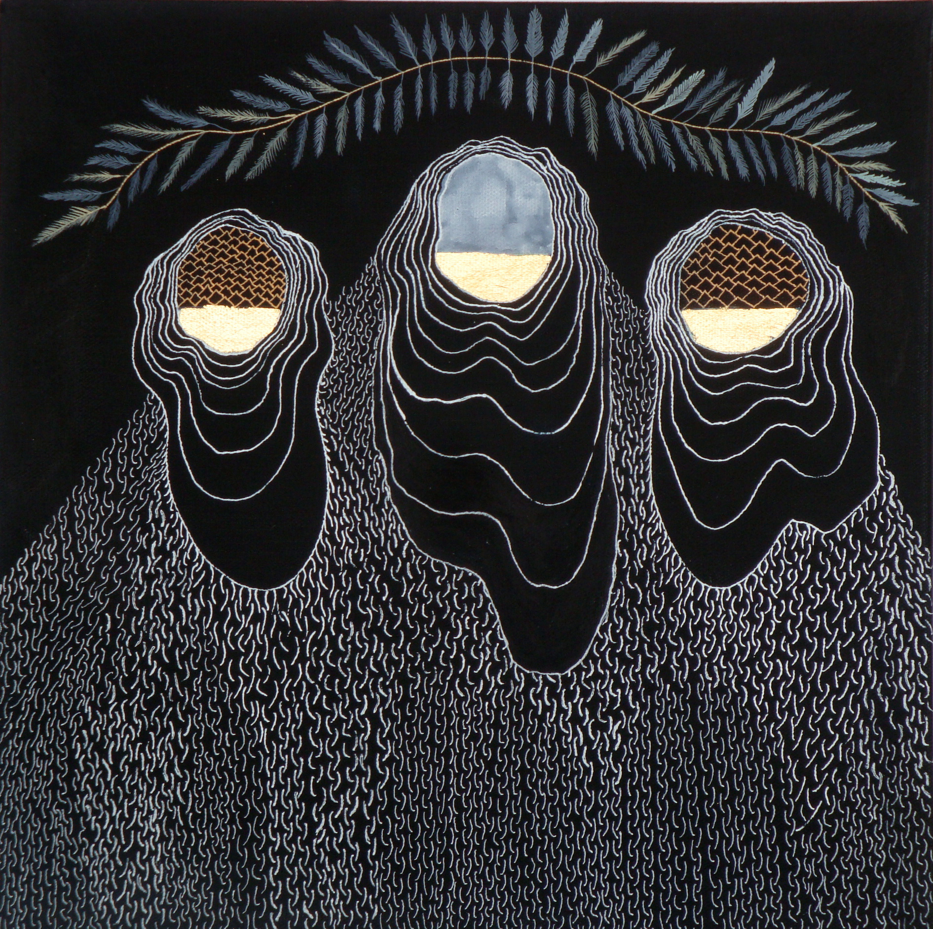 three sisters in mourning .jpg