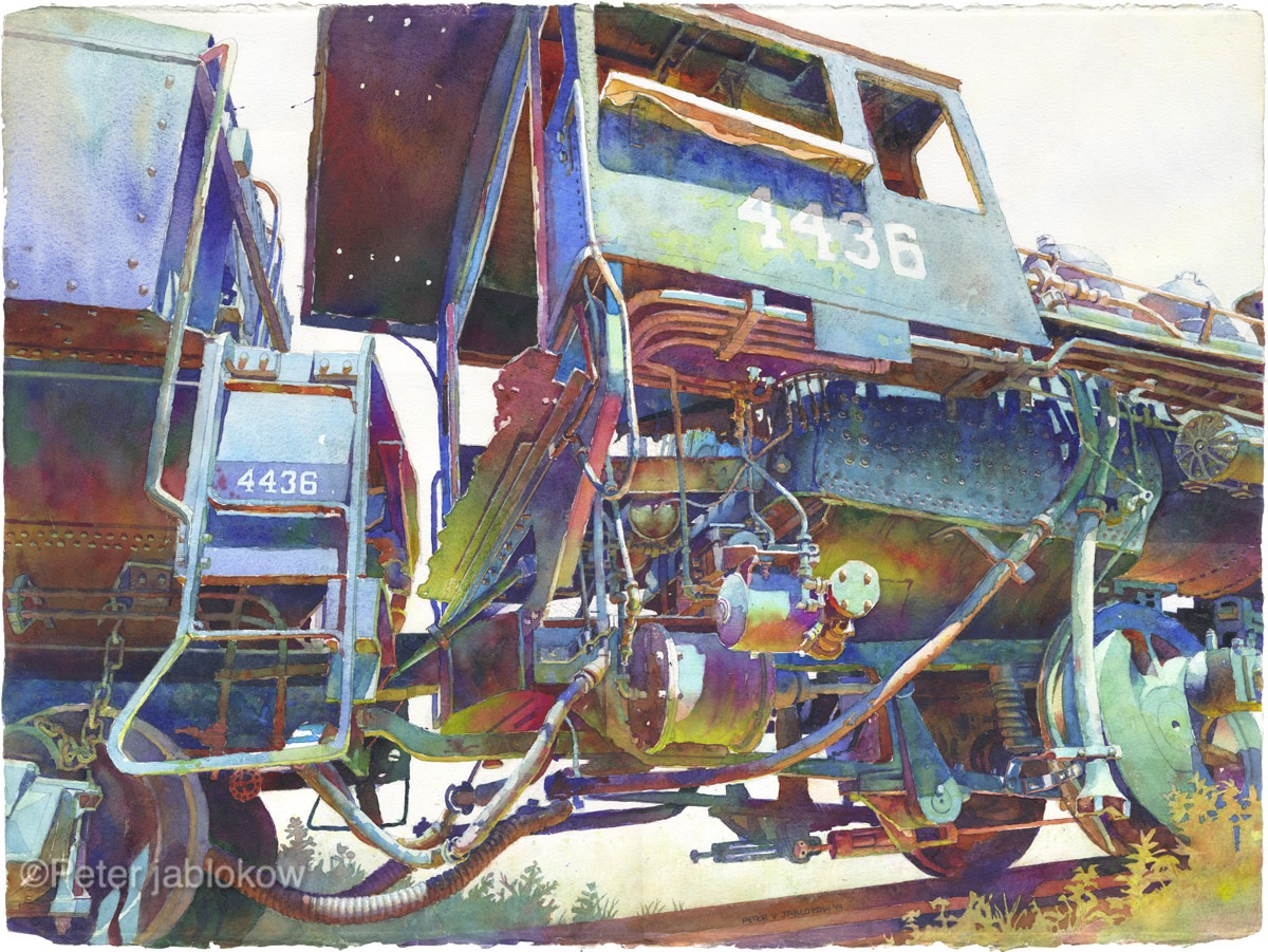 Engine 4436-Cab