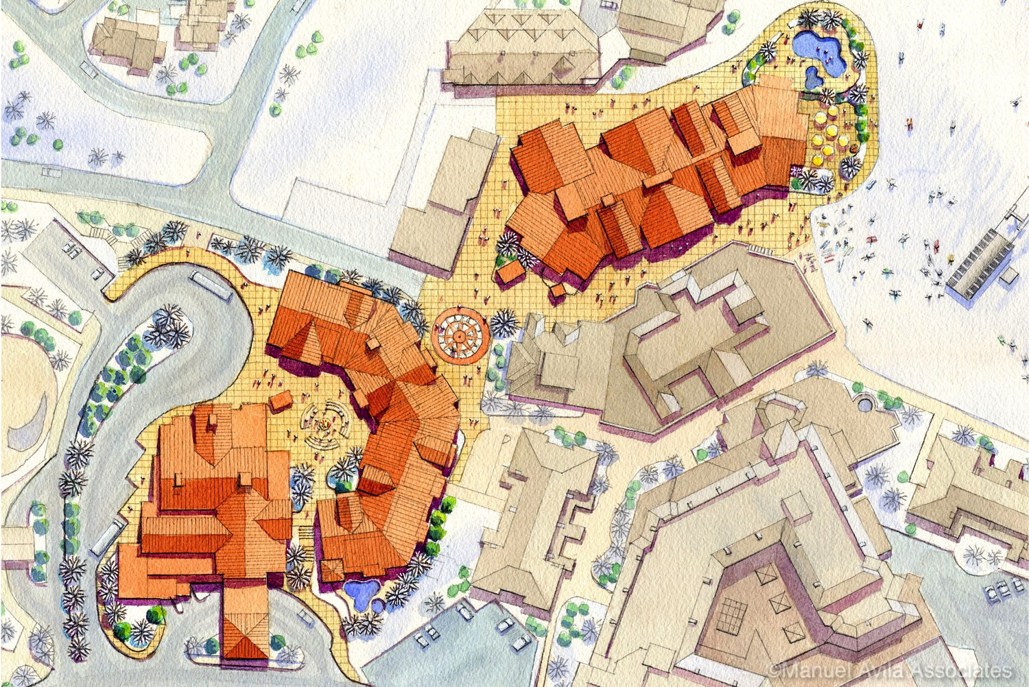 Crested Butte Site Plan