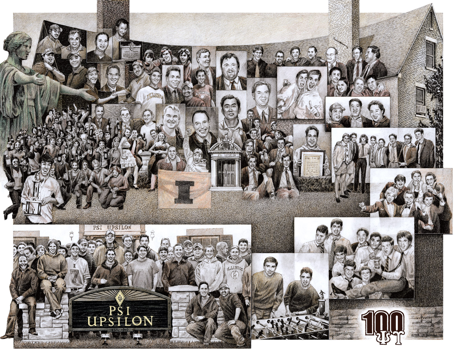 recent Years, Psi U Omicron chapter 100 Year history