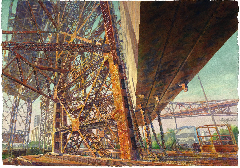 Calumet River Vertical Lift Bridge