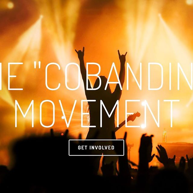 Join the #Cobanding movement