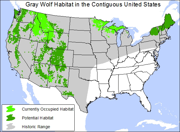 Map produced by Center for Biological Diversity