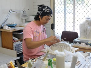 Ceramic Arts Daily: A Visit Down Under to Kenji Uranishi's Pottery Studio, Jennifer Harnetty, April 17, 2013
