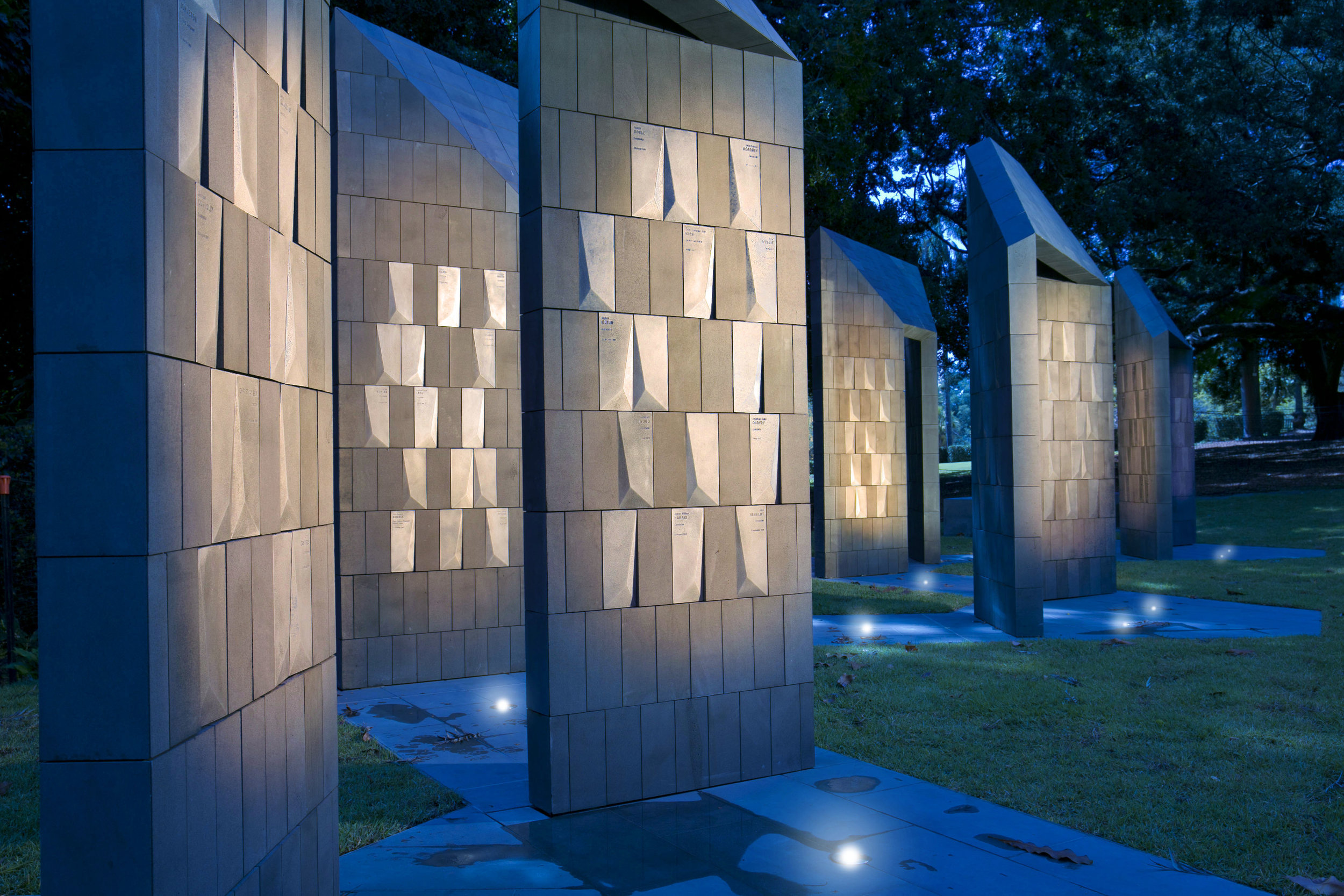 Queensland Police Memorial. Image: Courtesy of UAP