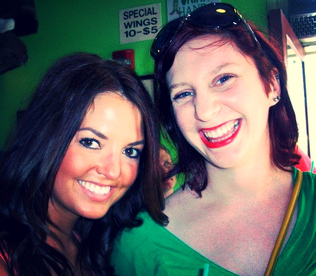 Holly and I touring Bourbon Street in NOLA in the summer of 2012.