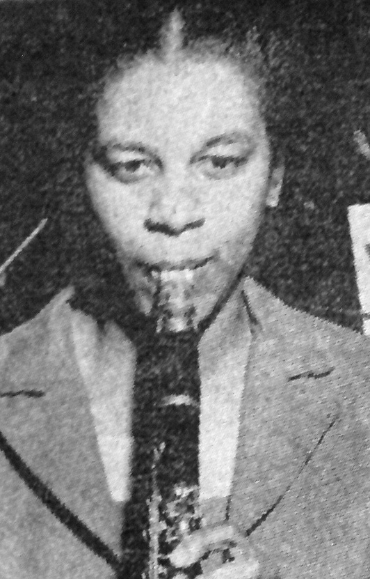 MWSO clarinettist Violet Louise Grant, the first black musician in a Canadian symphony orchestra