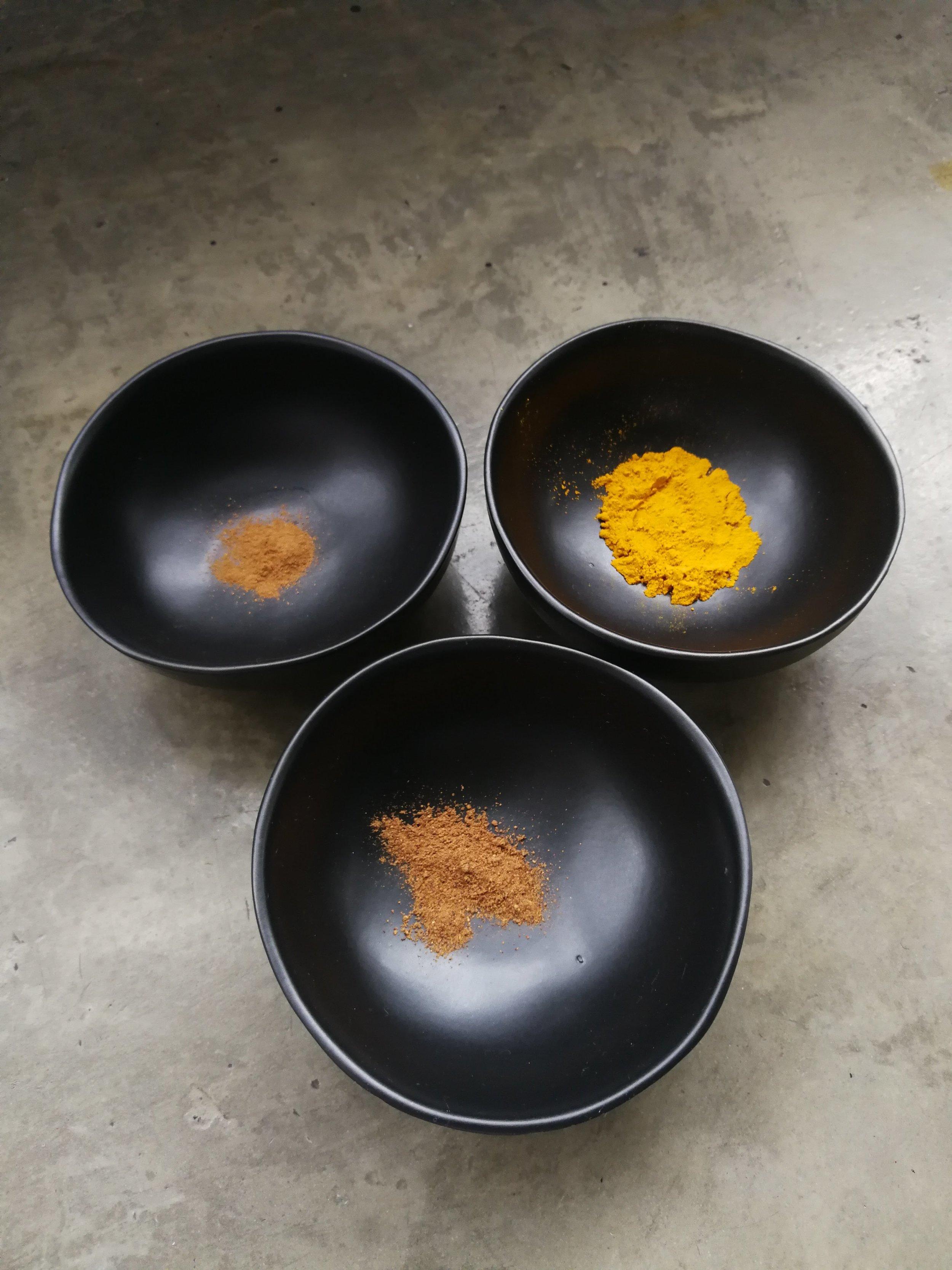 Spices - 1 Tsp Turmeric1 Tsp Cinnamon1 Tsp Nutmeg