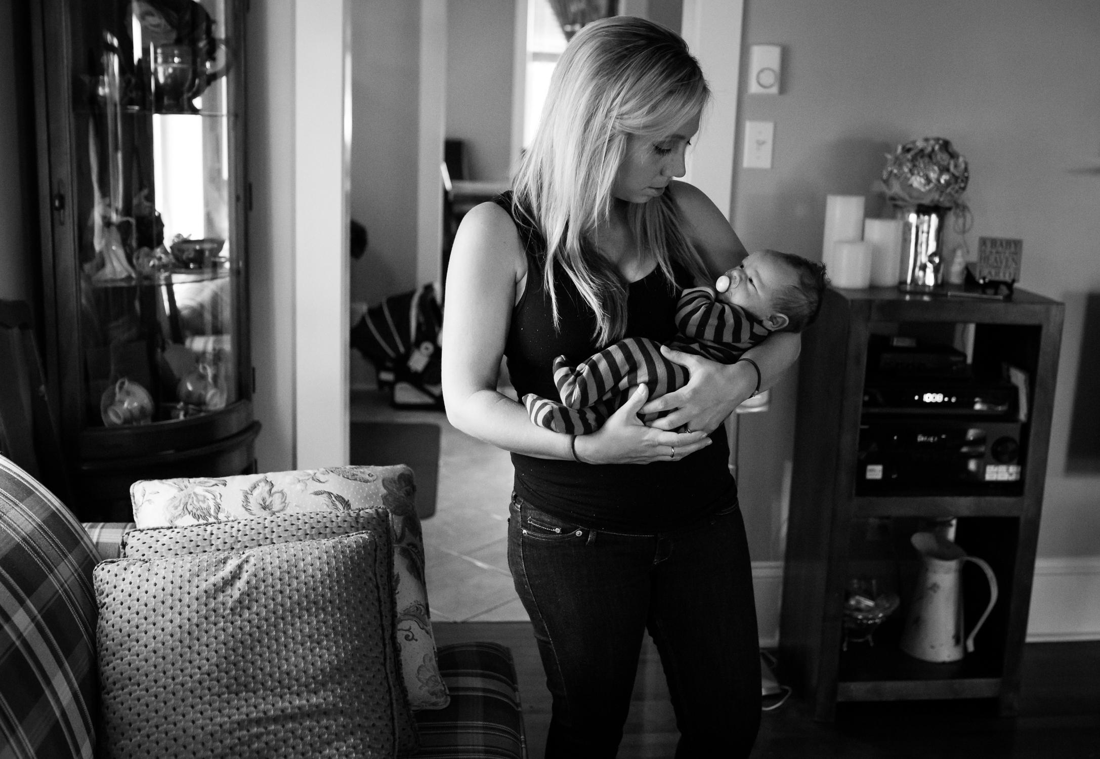 Moncton Newborn Documentary Photogarpher