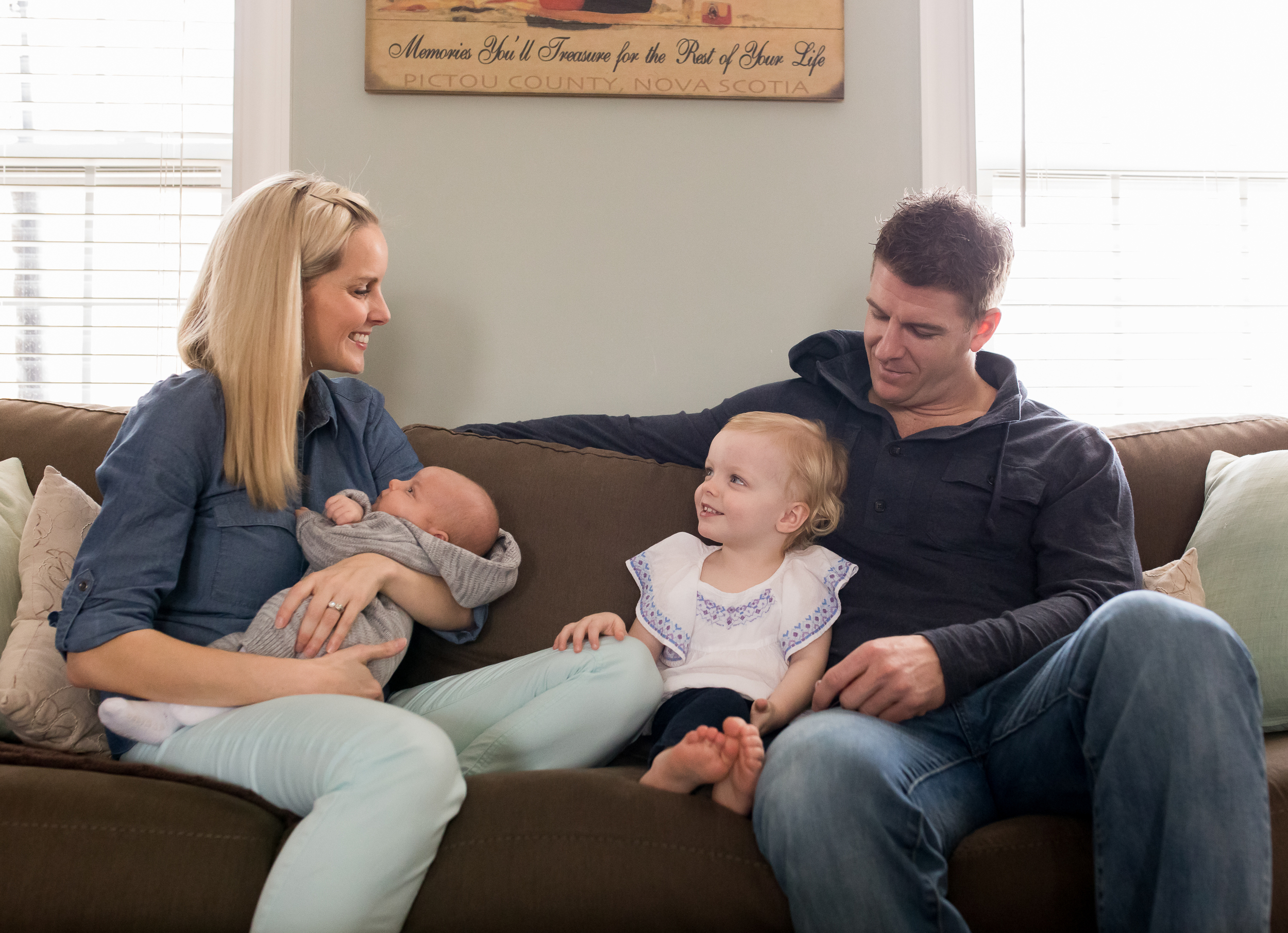 Moncton Newborn Baby - Family Photographer