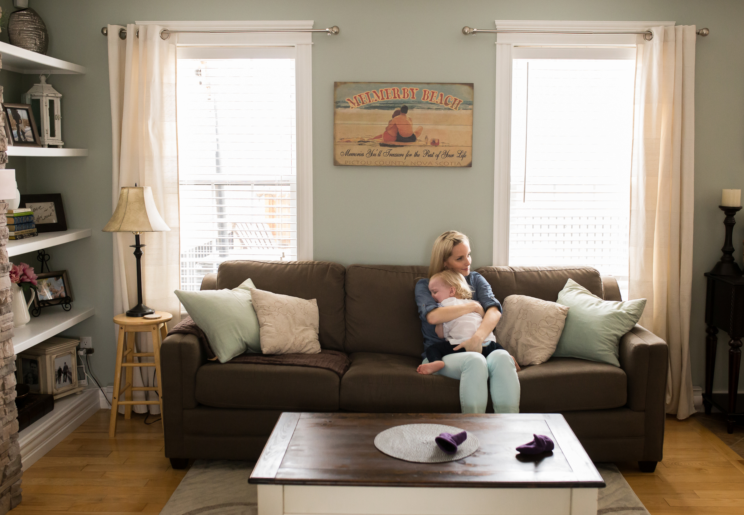 Moncton Newborn Baby - Family Photographer