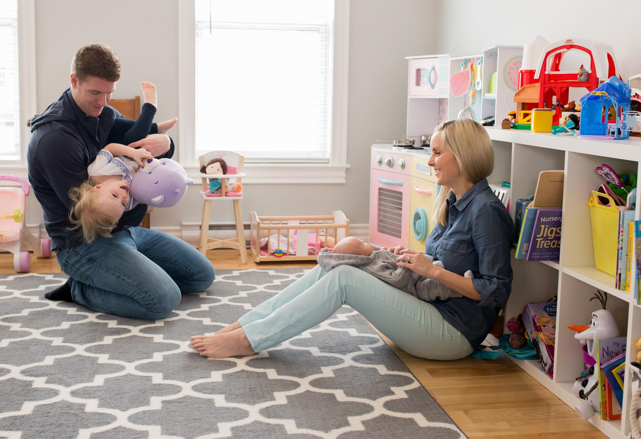 Moncton Newborn Baby - Lifestyle Family Photographer