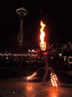 PNEUMA at Seattle Winter Solstice Fire Festival