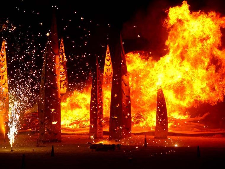 ANGEL OF THE APOCALYPSE (2005) at Burning Man