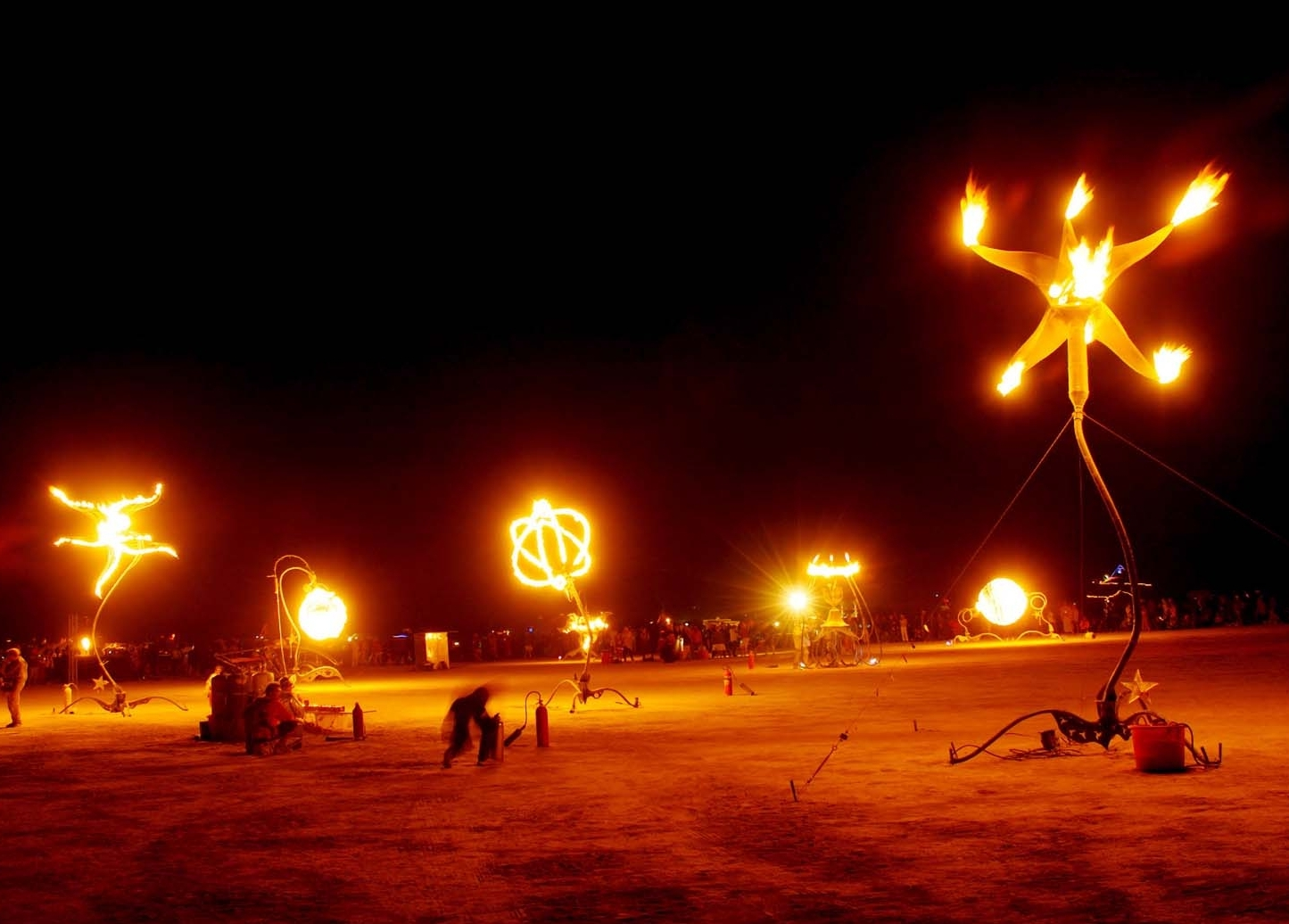 SEVEN SISTERS (2004) at Burning Man