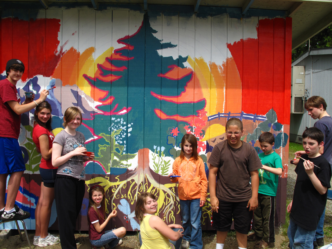 Students in Concrete Washington 2010