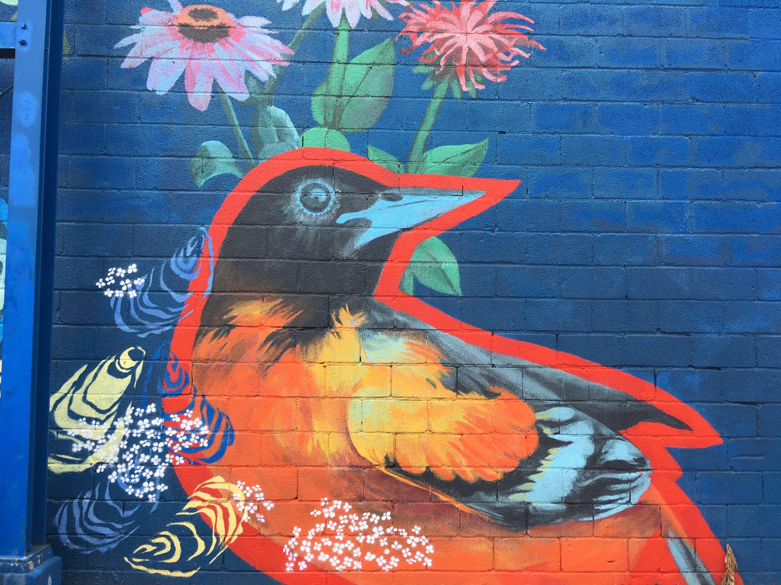 Patapsco Watershed Mural Detail 2016